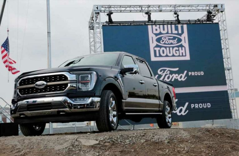 Ford cuts F-150 pickup production again due to chip shortage