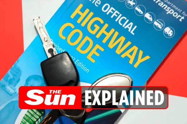 Highway code changes today: The 33 updates and two new rules all drivers need to know before they hit the road