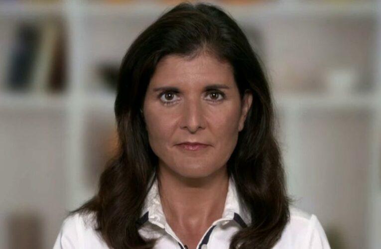Nikki Haley slams Biden for not publicly demanding UN General Assembly 'not recognize' the Taliban