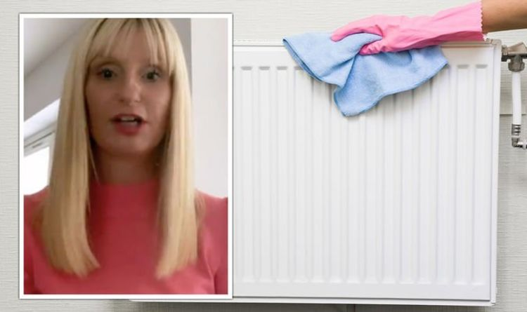 Cleaning star Lynsey Crombie shares 'best solution' to remove radiator stains – 44p hack